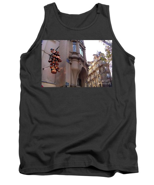 Angles And Details At Place Saint Andre Des Arts Tank Top