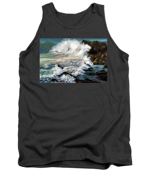 Angry Sea Tank Top by Walter Fahmy