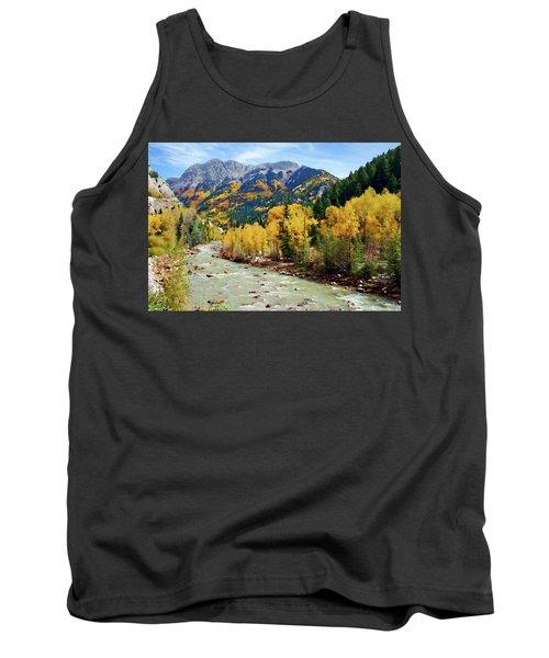 Tank Top featuring the photograph Animas River San Juan Mtns, Co, Panorama by Kurt Van Wagner