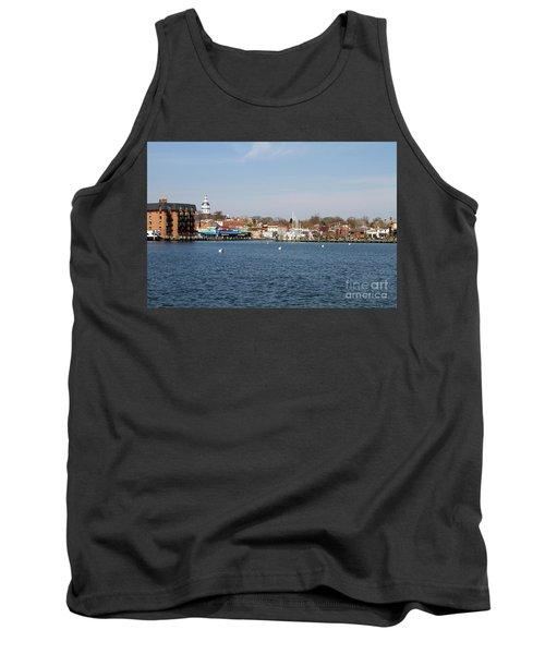 Annapolis City Skyline Tank Top