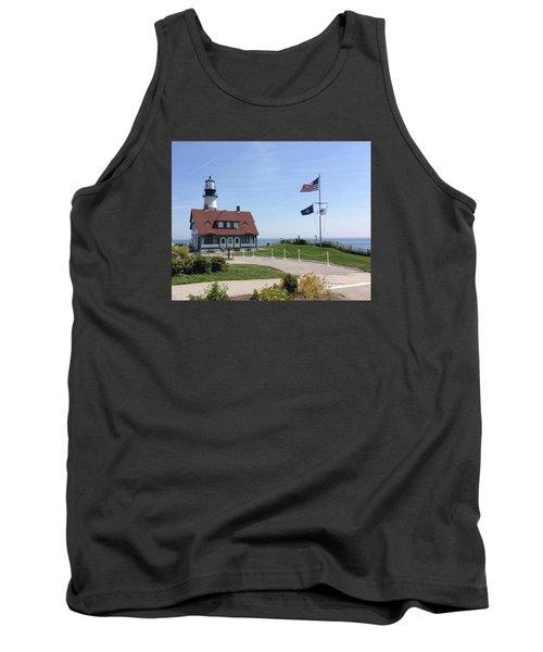 Portland Lighthouse ----- Edit Tank Top