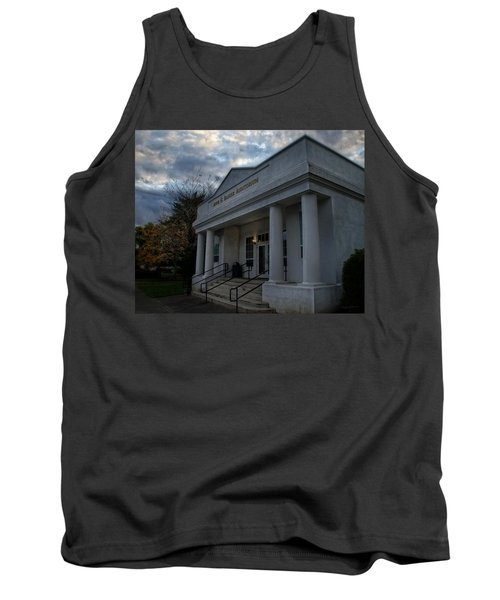 Anne G Basker Auditorium In Grants Pass Tank Top by Mick Anderson