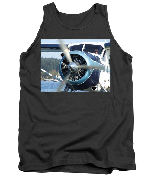 Another Day At The Office Tank Top by Mark Alan Perry