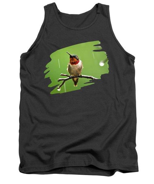 Another Rainy Day Hummingbird Tank Top