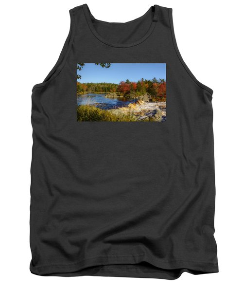 Another View Of Liscombe Falls Tank Top by Ken Morris
