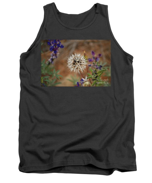 Another White Flower Tank Top