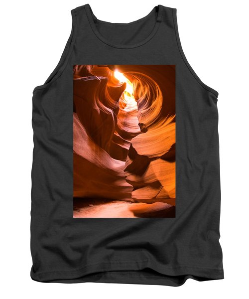 Antelope Canyon Tank Top by Harry Spitz
