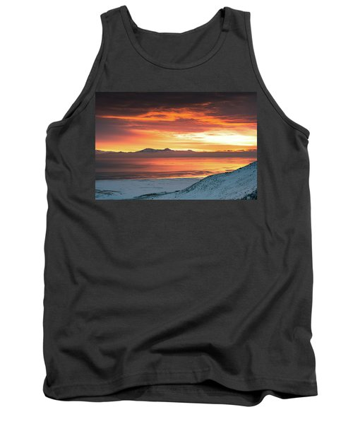 Antelope Island Sunset Tank Top