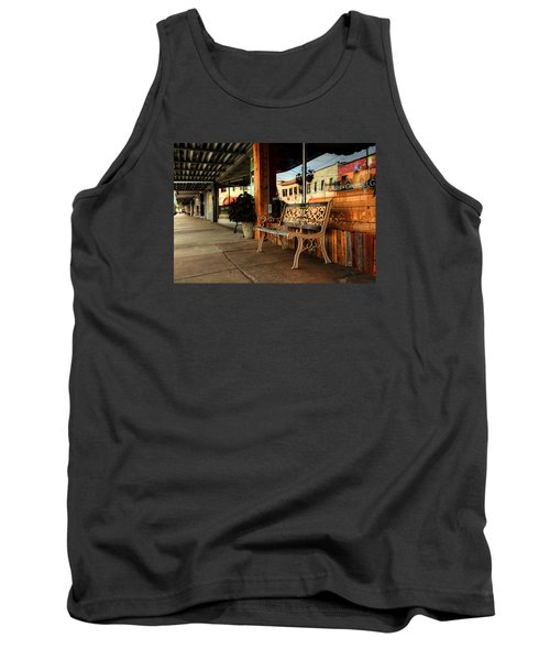 Antique Bench Tank Top by Ester Rogers