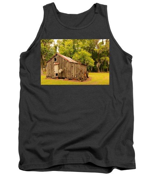Antique Shed Tank Top by Ronald Olivier