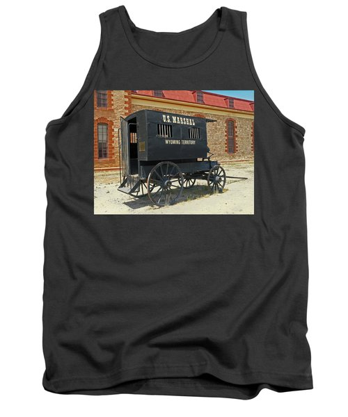 Antique U.s Marshalls Wagon Tank Top