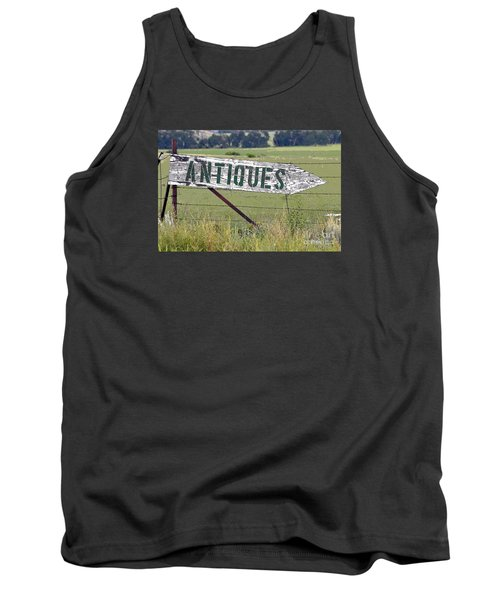 Antiques  Tank Top by Juls Adams