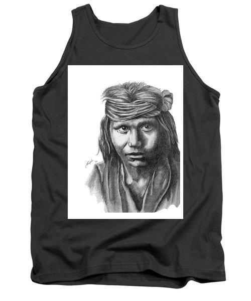 Apache Boy Tank Top by Lawrence Tripoli