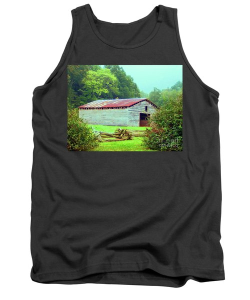 Appalachian Livestock Barn Tank Top by Desiree Paquette