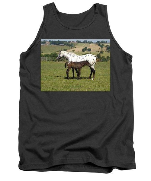 Appaloosa Mare And Foal Tank Top