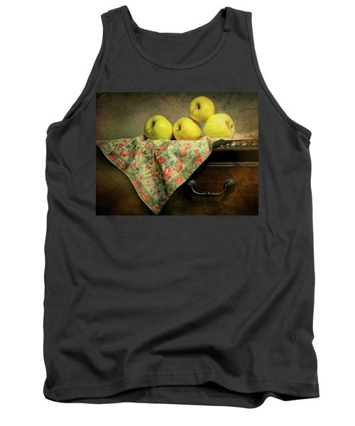 Tank Top featuring the photograph Apple Cloth by Diana Angstadt