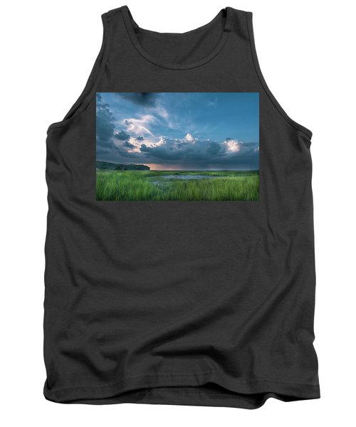 Approaching Storm Tank Top by Phyllis Peterson
