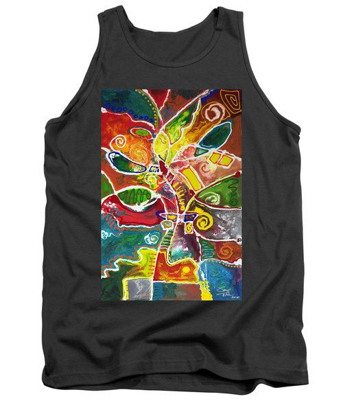 April Bouquet Tank Top