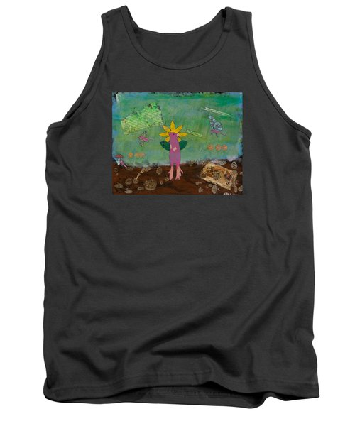 April Showers Tank Top