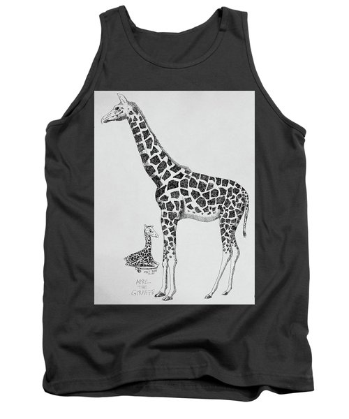 April The Giraffe Tank Top