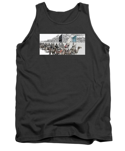 Arabian Cavalry Tank Top by Kurt Ramschissel