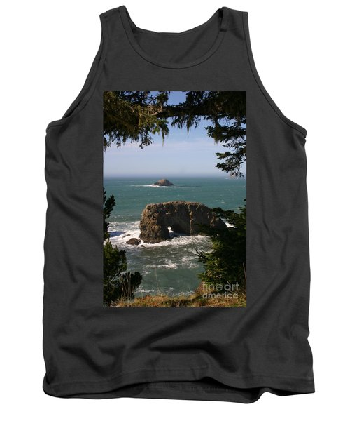 Arch Rock View Tank Top by Marie Neder