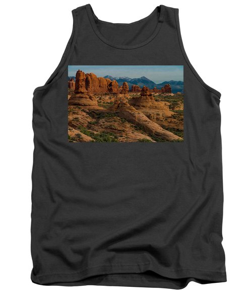 Tank Top featuring the photograph Arches National Park by Gary Lengyel