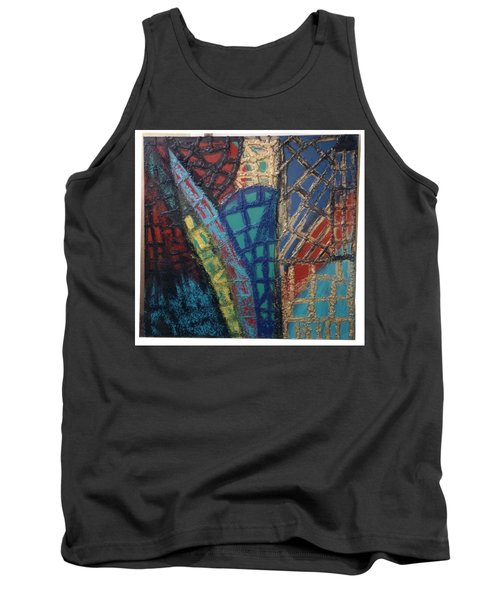 Architectuaral Bent,   Tank Top by Darrell Black