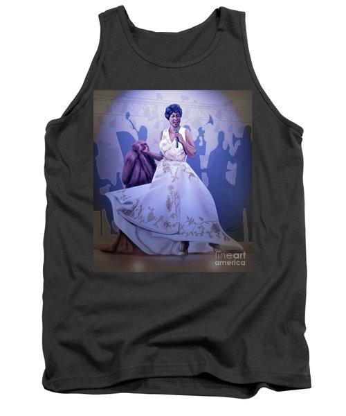 Aretha Franklin Rock Steady Tank Top