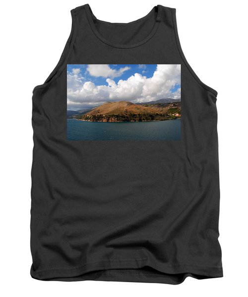 Tank Top featuring the photograph Argostoli Greece by Robert Moss