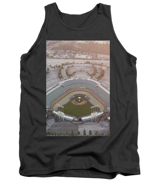 Ariel Image Of Dodger Stadium Tank Top