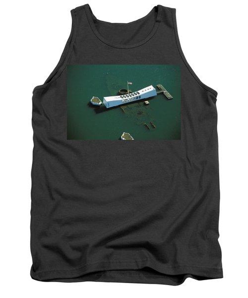 Arizona Memorial Aerial Tank Top