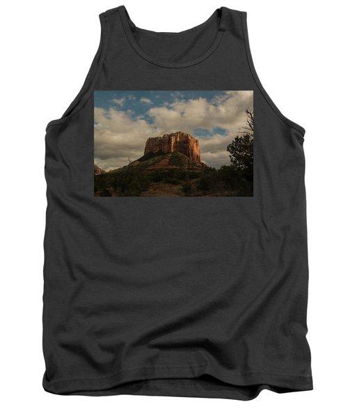 Arizona Red Rocks Sedona 0222 Tank Top by David Haskett
