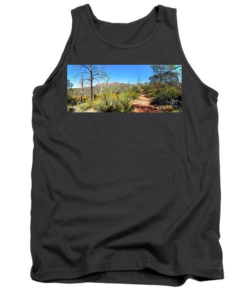 Arkaroo Rock Hiking Trail.wilpena Pound Tank Top by Bill Robinson