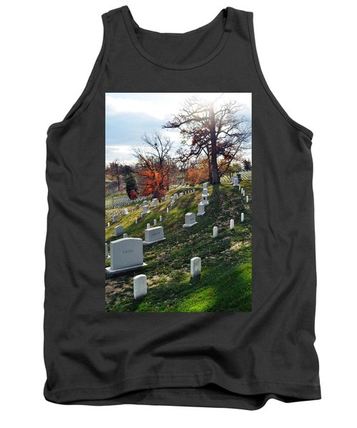 Arlington National Cemetery Portrait Tank Top