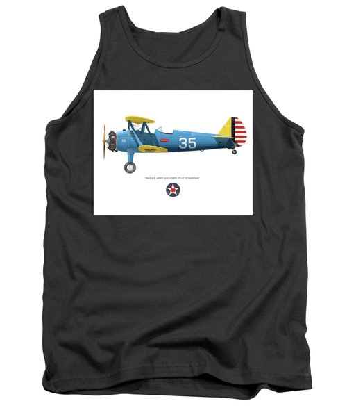 Army Air Corps Pt-17 Tank Top