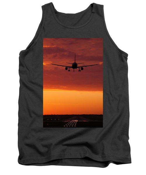 Arriving At Day's End Tank Top