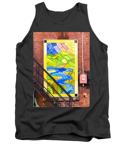 Art And The Fire Escape Tank Top