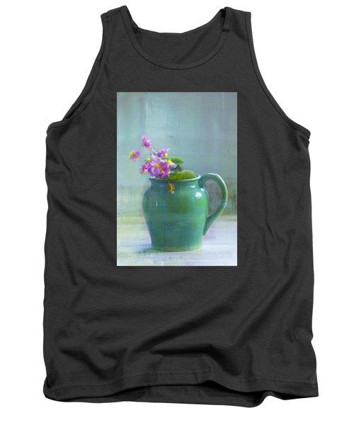 Art Of Begonia Tank Top by John Rivera