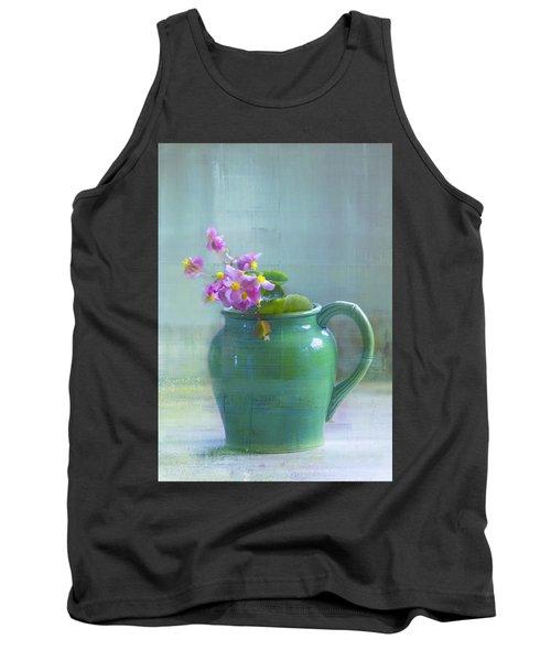 Art Of Begonia Tank Top