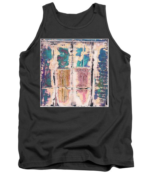 Art Print Square 8 Tank Top