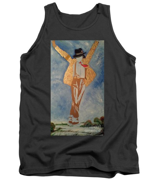 Artist Tank Top by Dr Frederick Glover