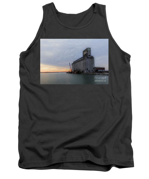 Artistic Sunset Tank Top by Jim Lepard