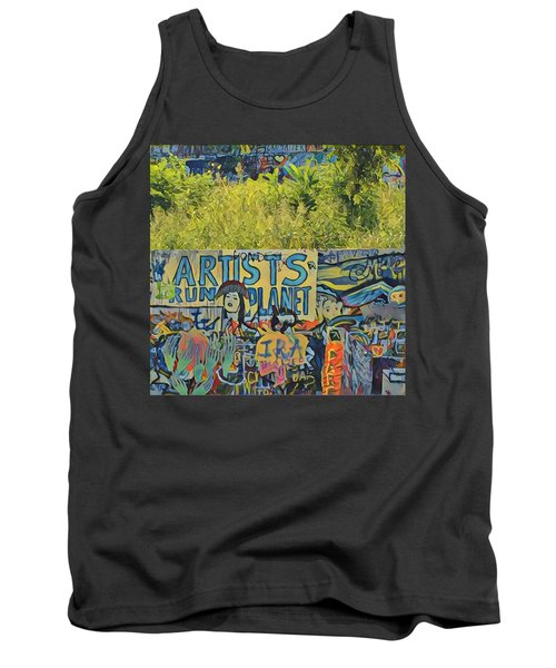 Artists Run The Planet Tank Top