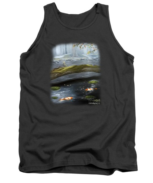 The Wishing Pond  Tank Top by Susan  Rossell