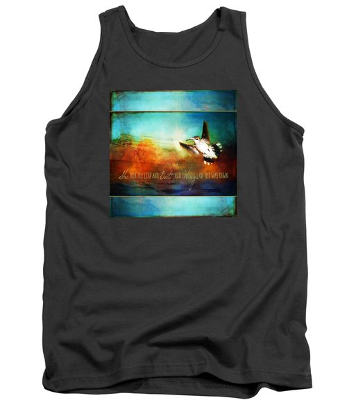 She Built Her Wings Tank Top