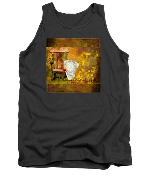 When Life Throws You Scraps, Make A Quilt Tank Top