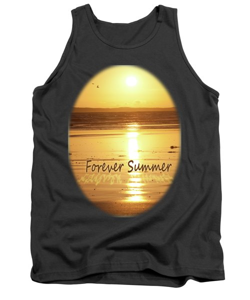 Tank Top featuring the photograph Forever Summer 4 by Linda Lees