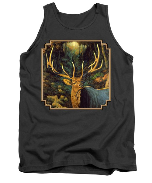 Elk Painting - Autumn Majesty Tank Top