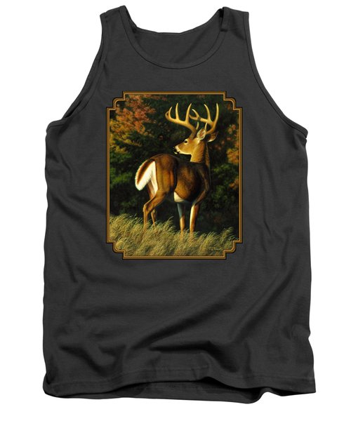 Whitetail Buck - Indecision Tank Top